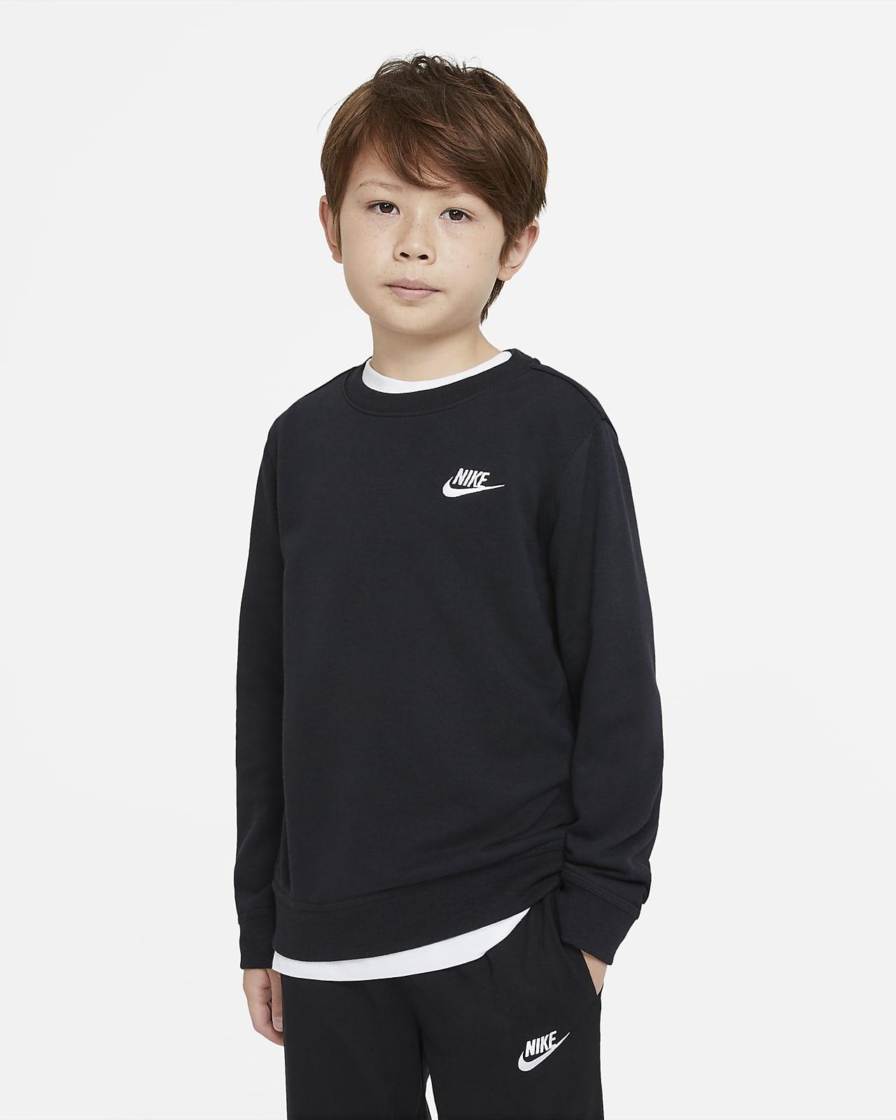 Maglia a girocollo in French Terry Nike Sportswear - Ragazzo