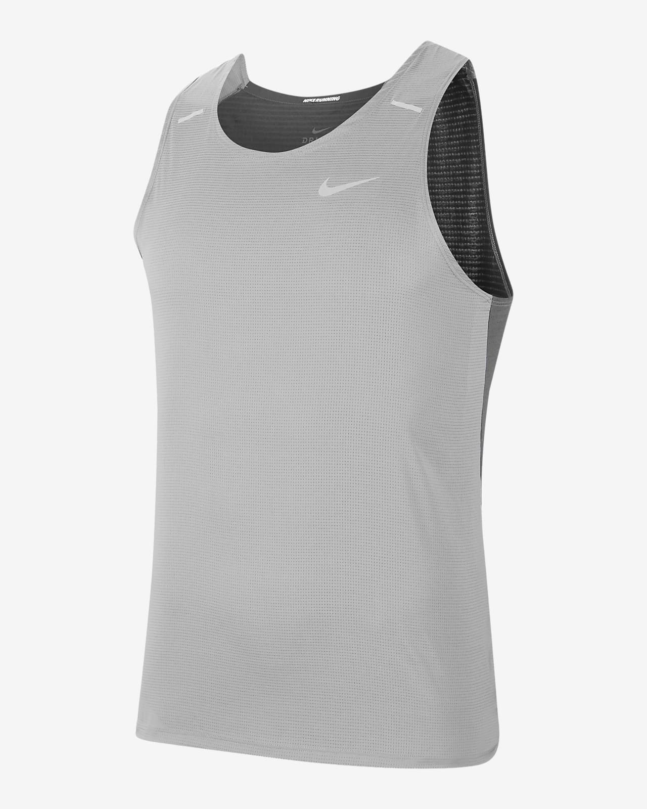 Camisola de running híbrida sem mangas Nike Breathe Rise 365 para homem
