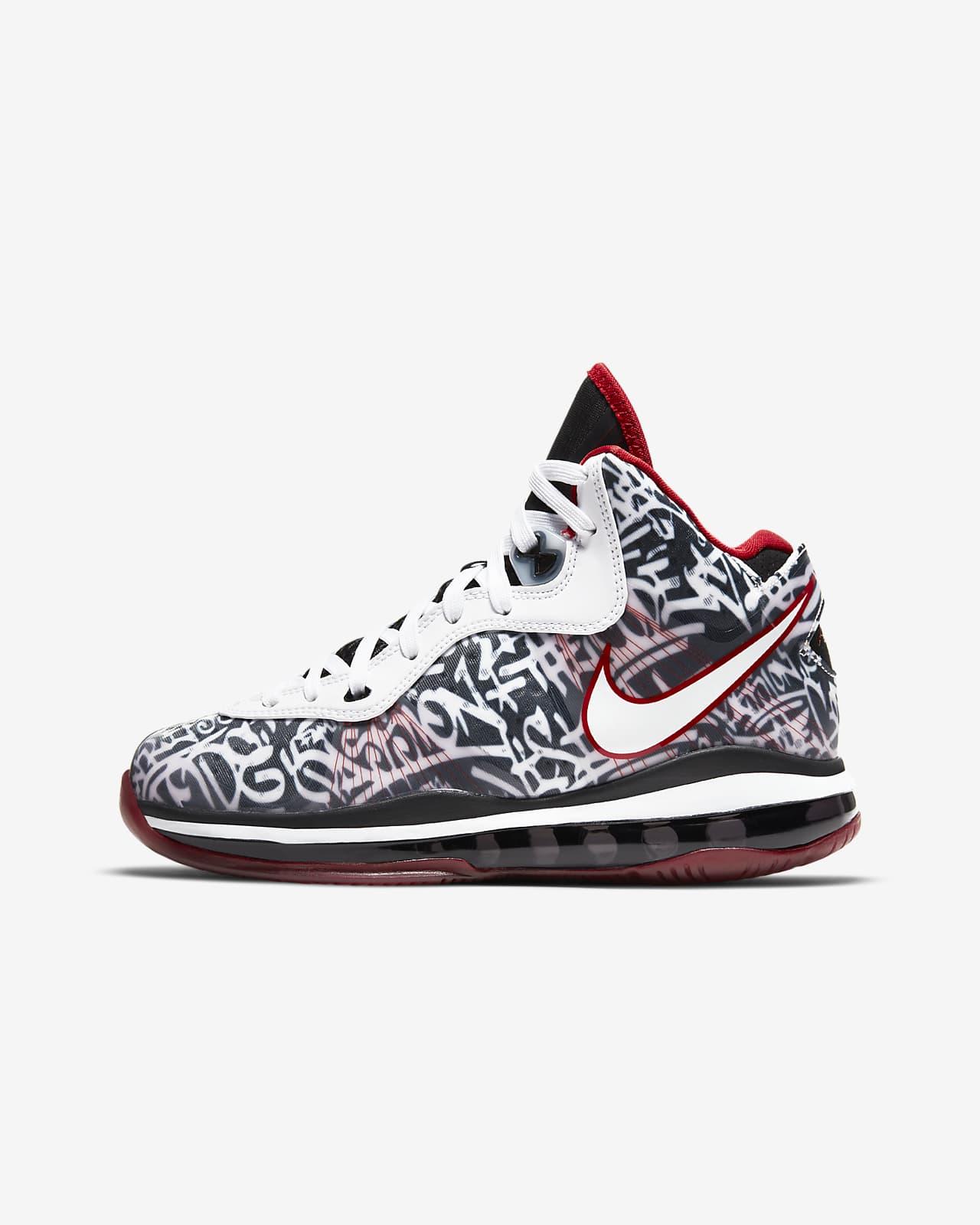 Nike LeBron 8 sko til store barn