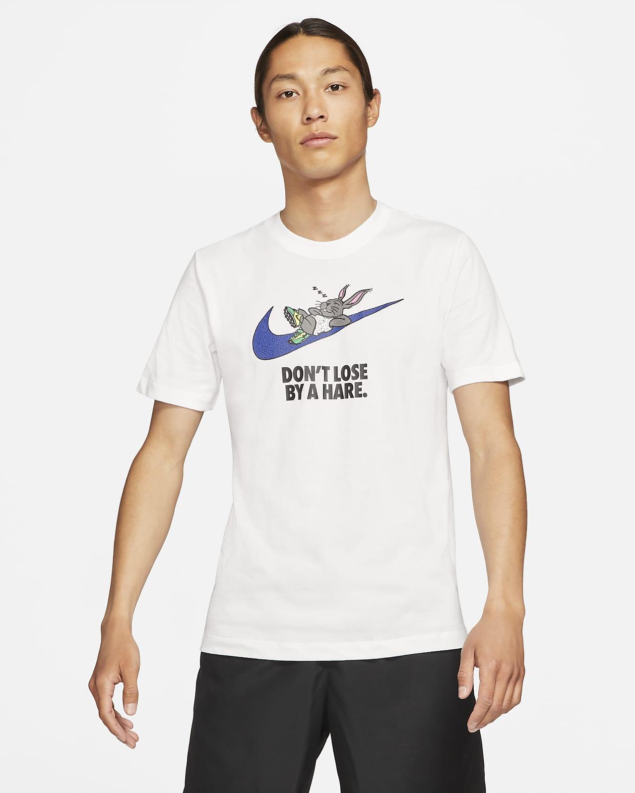 """เสื้อยืดวิ่งผู้ชาย Nike Dri-FIT """"Hare"""""""