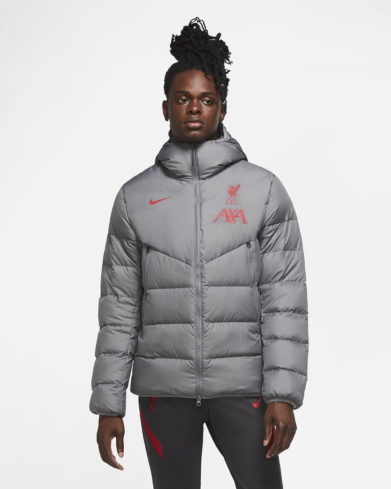 Liverpool F.C. Strike Men's Down-Fill Football Jacket