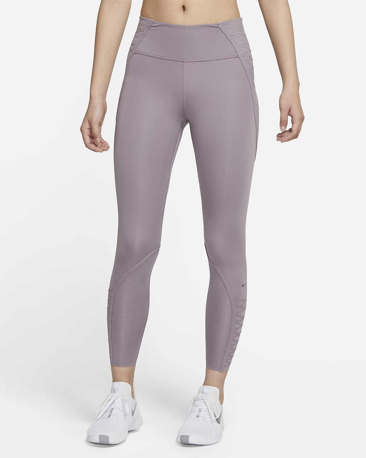 กางเกงรัดรูปผู้หญิง 7/8 ส่วน Nike One Luxe