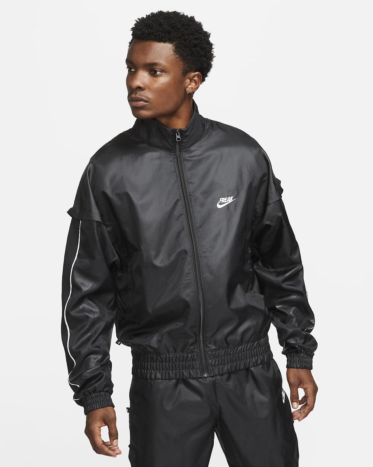 Track jacket leggera Giannis - Uomo