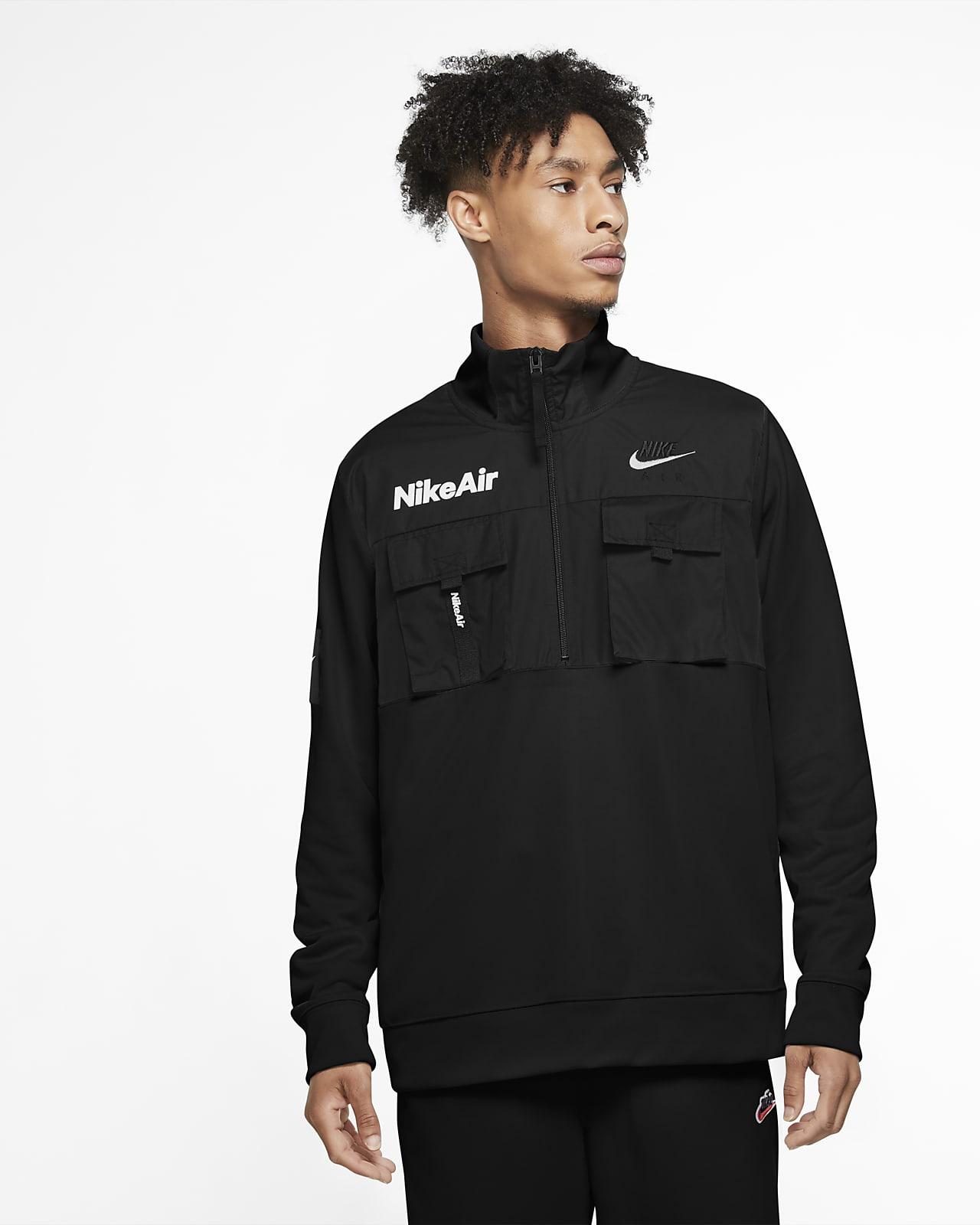Nike Air-jakke med halv lynlås til mænd