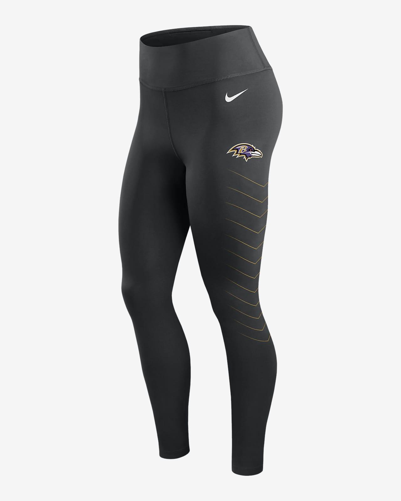 Leggings para mujer Nike Dri-FIT (NFL Baltimore Ravens)
