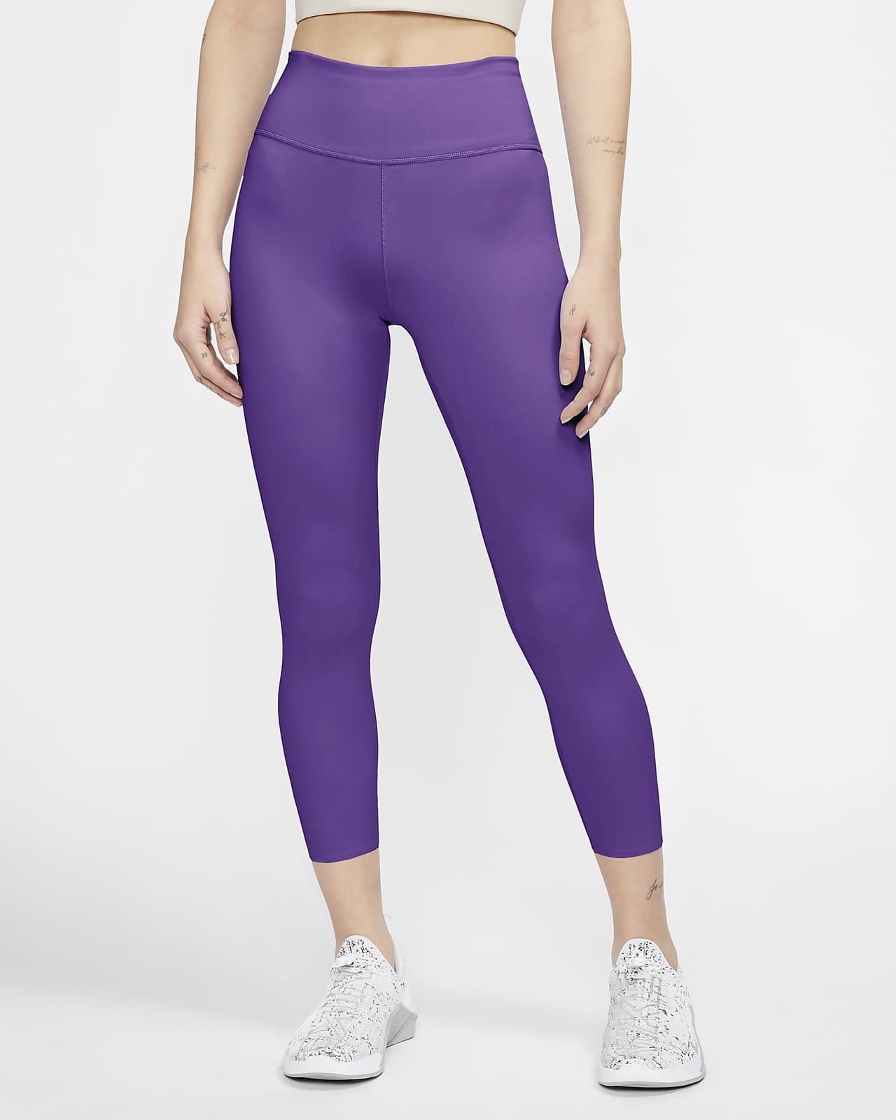 Leggings cropped de tiro medio para mujer Nike One Luxe