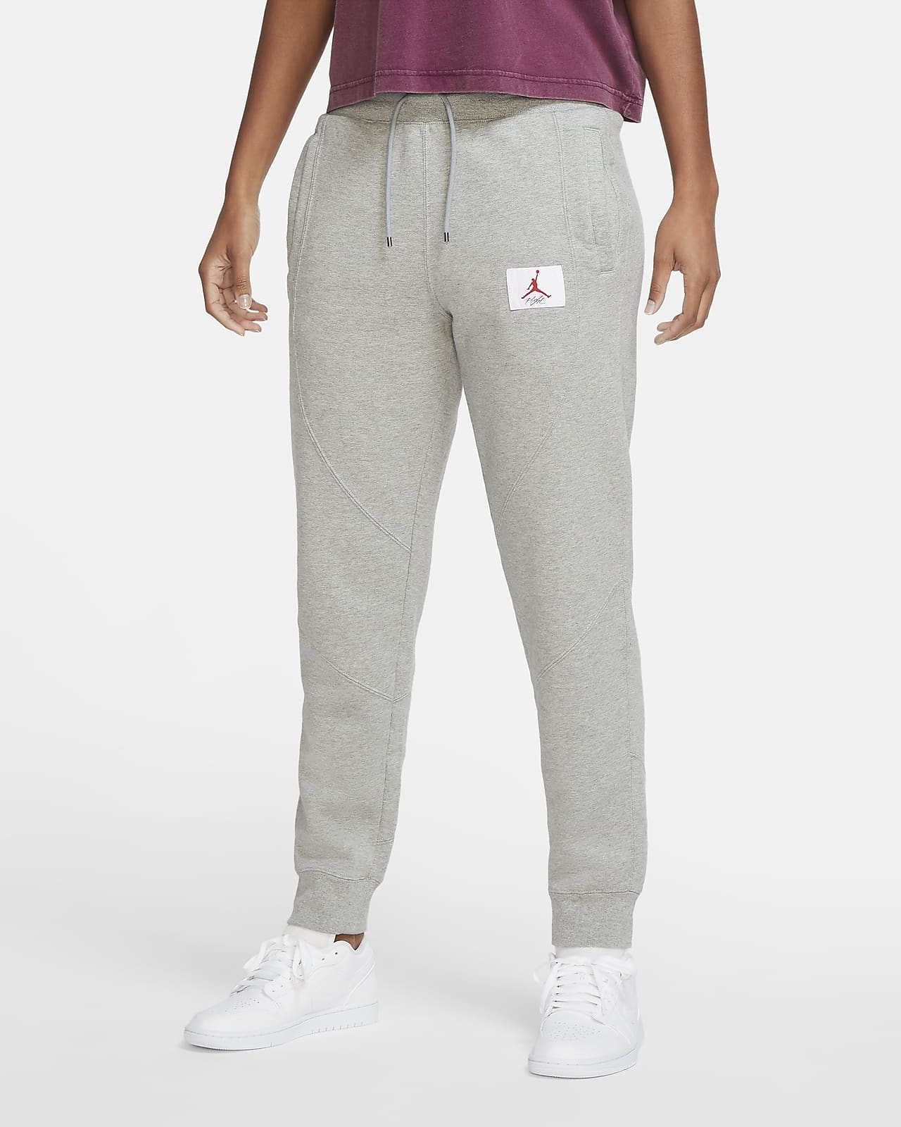 Pantalon en tissu Fleece Jordan Flight pour Femme