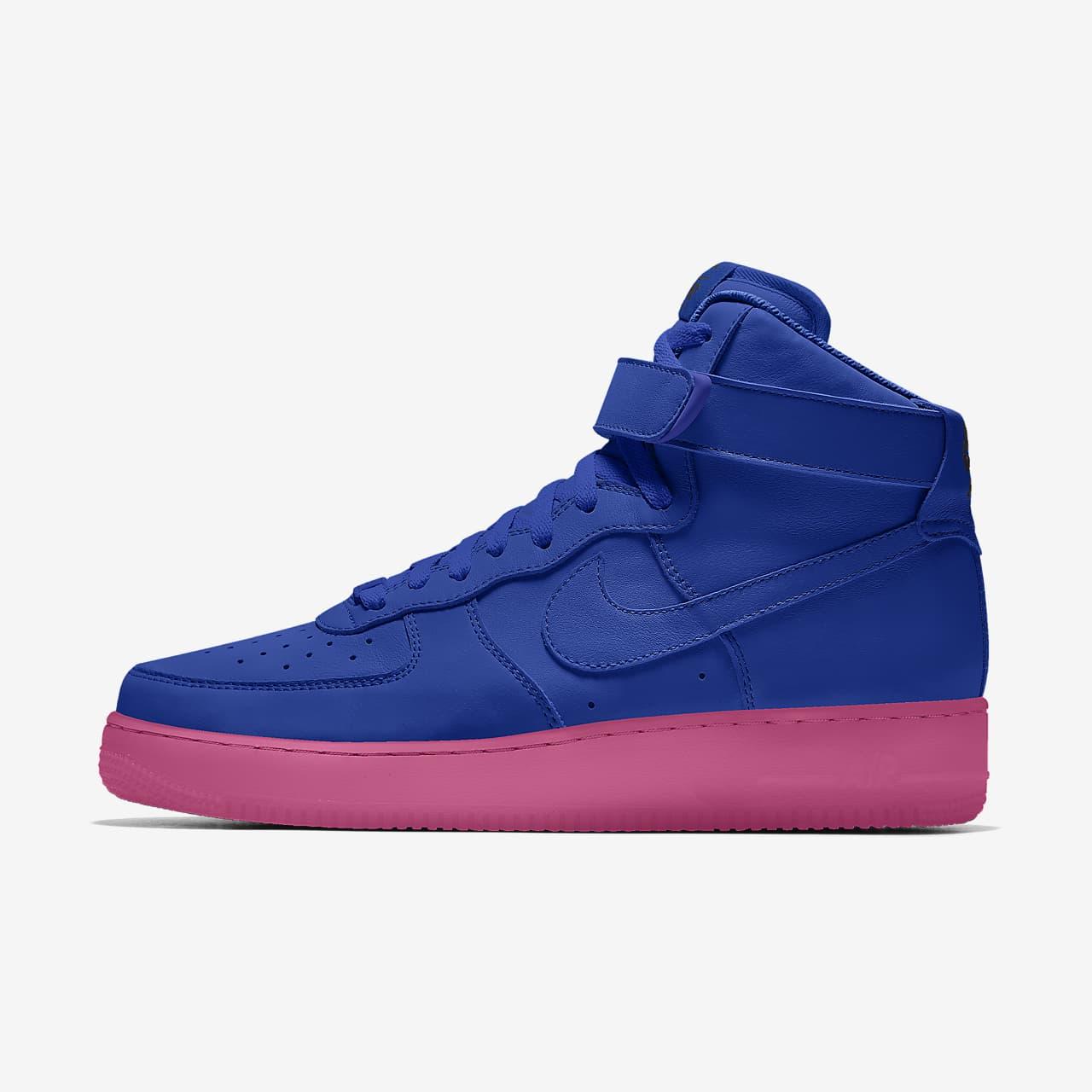 Nike Air Force 1 High By You Custom-sko til kvinder