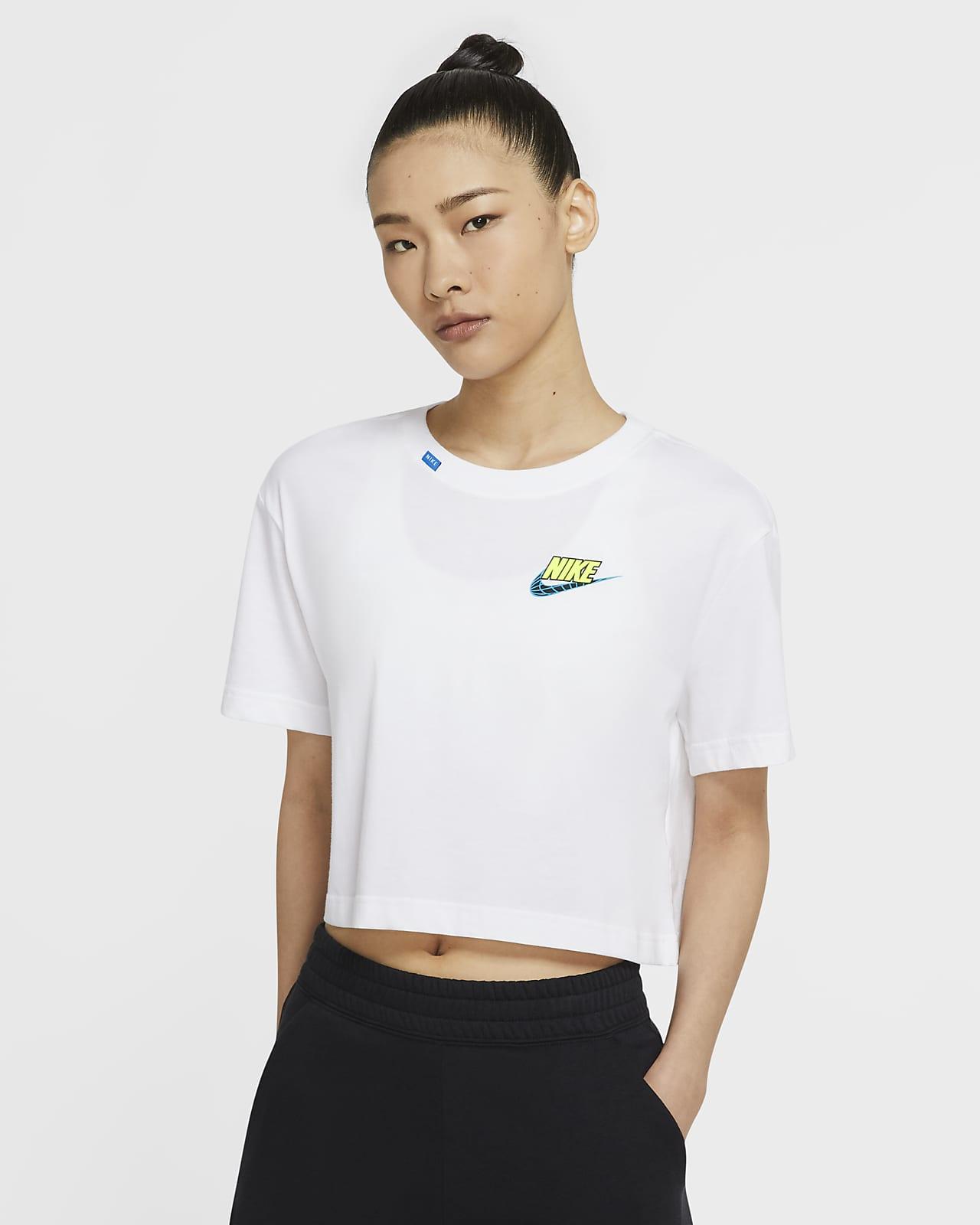 Nike Sportswear 女款短版 T 恤
