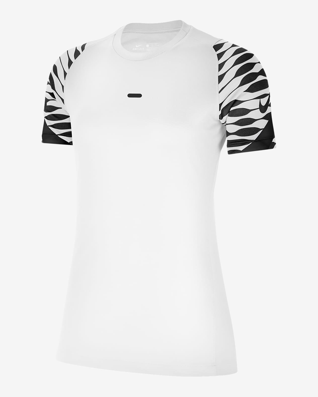 Γυναικεία κοντομάνικη ποδοσφαιρική μπλούζα Nike Dri-FIT Strike