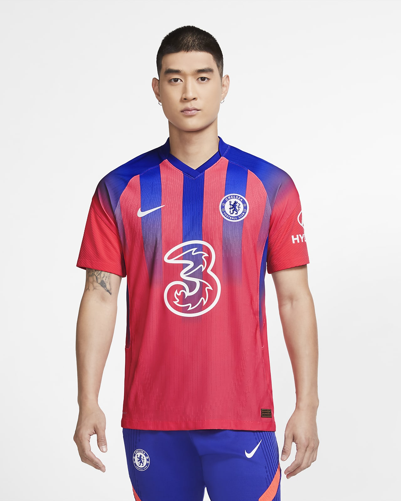 Chelsea F.C.2020/21 Vapor Match Third Men's Football Shirt