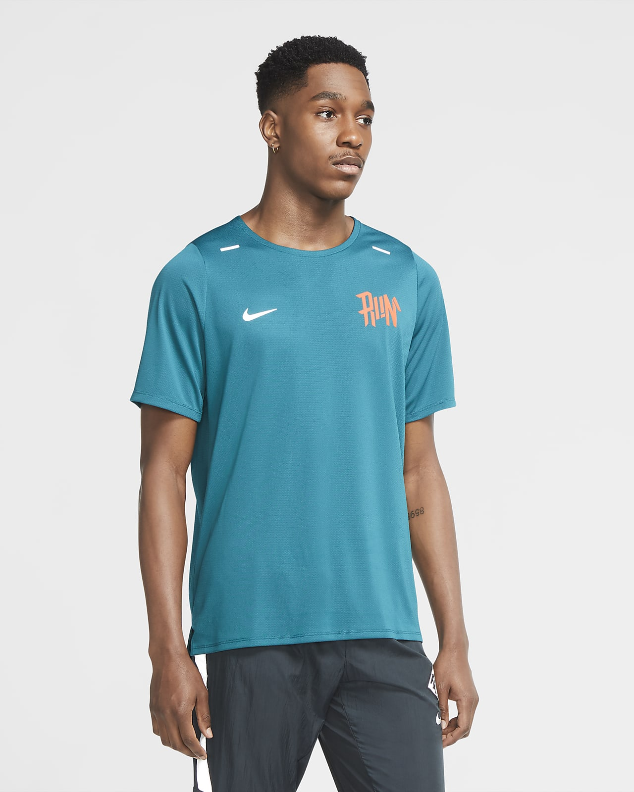 Nike Dri-FIT Rise 365 Wild Run Men's Running Top