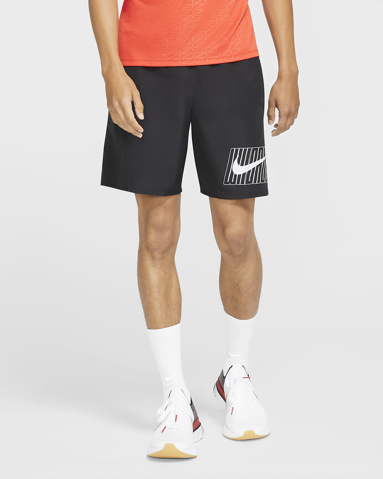 Nike Dri-FIT Run Wild Run Men's Graphic Running Shorts