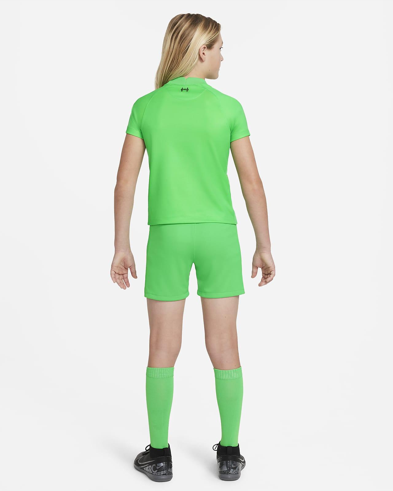 Divisa da calcio Liverpool FC 2021/22 Goalkeeper - Bambini