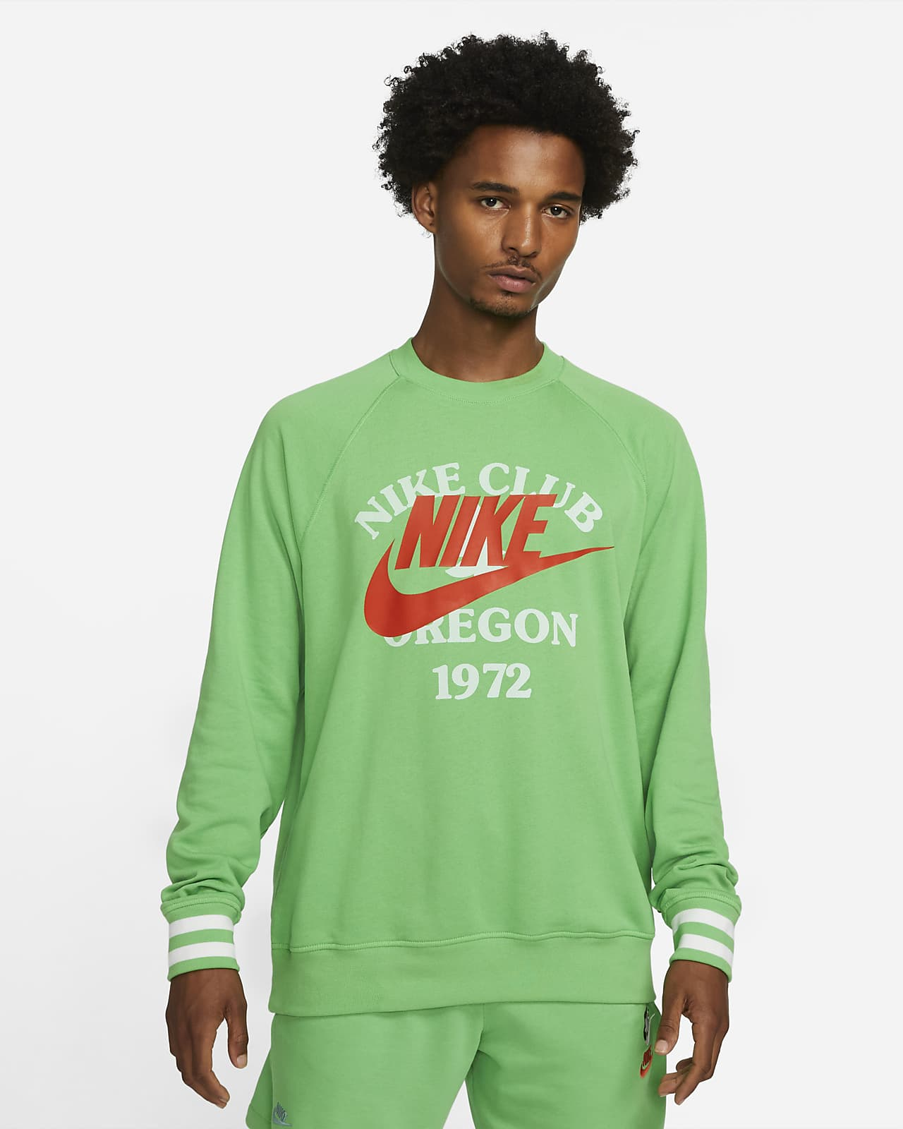 Мужская толстовка из ткани френч терри Nike Sportswear