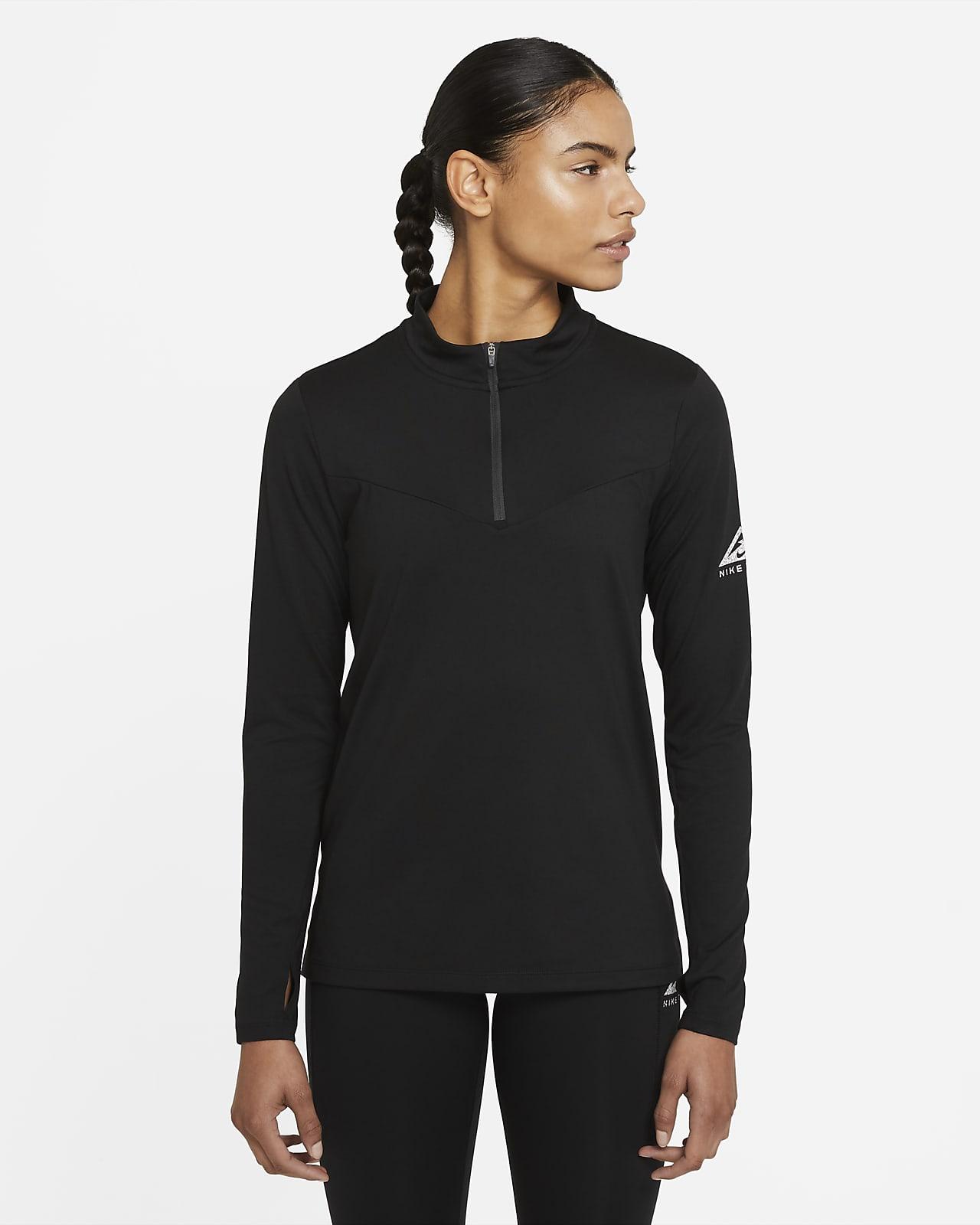 Prenda de capa media de trail running para mujer Nike Element