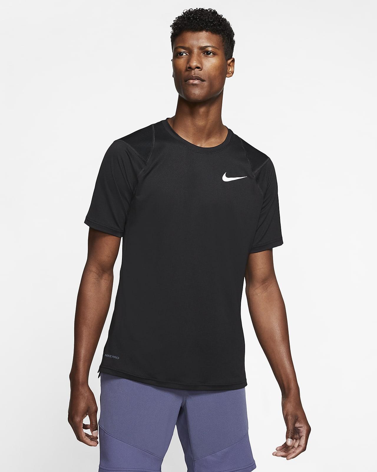 Nike Pro-kortærmet top til mænd