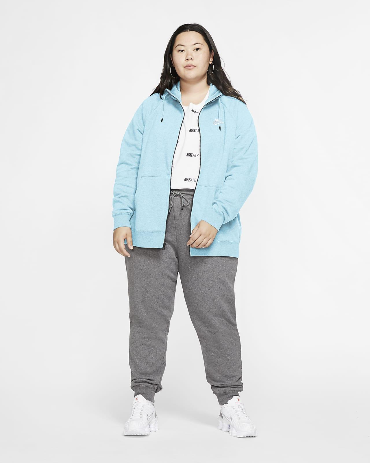 Sudadera Con Capucha De Cierre Completo Para Mujer Nike Sportswear Essential Talla Grande Nike Com