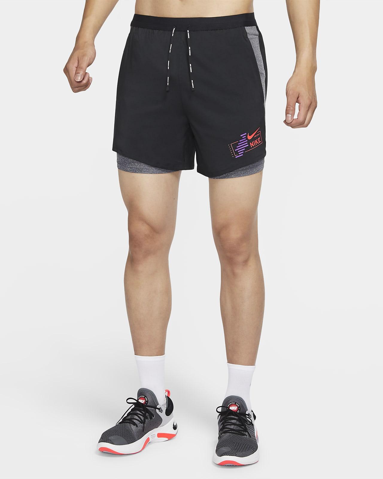 Nike Flex Stride Future Fast 男款二合一跑步短褲