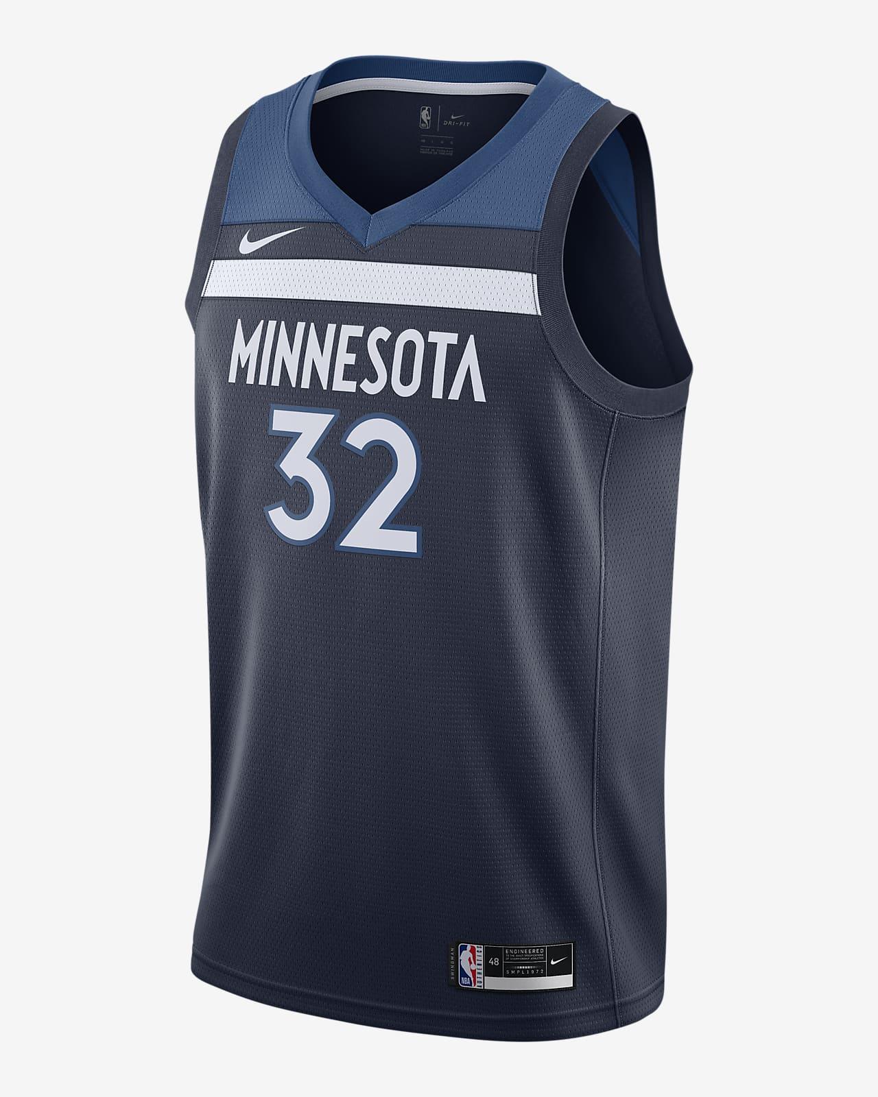 Karl-Anthony Towns Timberwolves Icon Edition 2020 Nike NBA Swingman mez