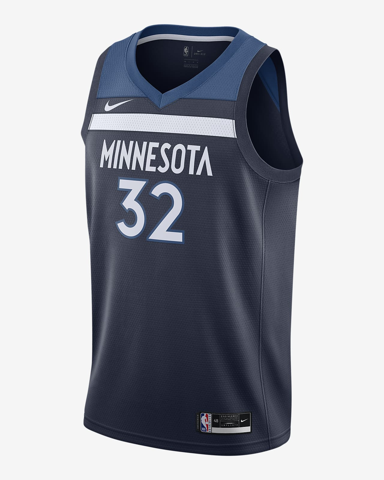 Karl-Anthony Towns Timberwolves Icon Edition 2020 Nike NBA Swingman Trikot