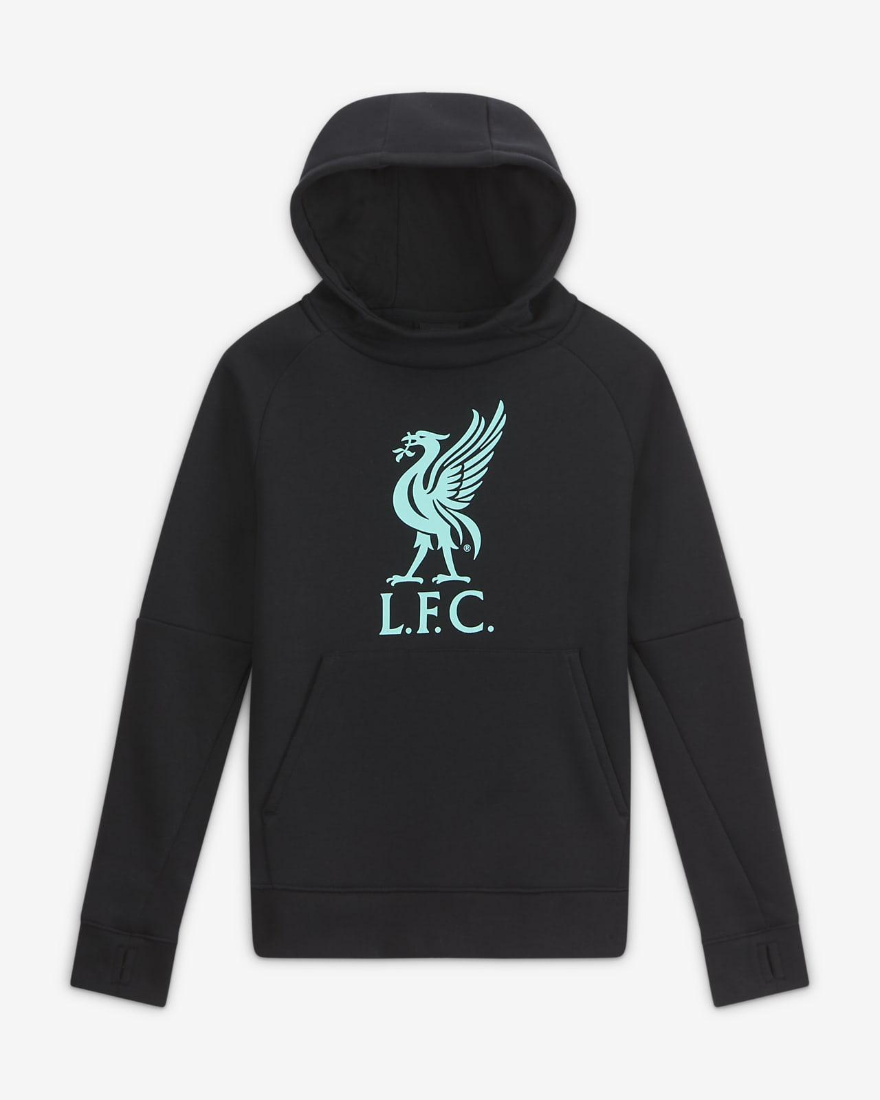 Liverpool F.C. Older Kids' Fleece Pullover Football Hoodie
