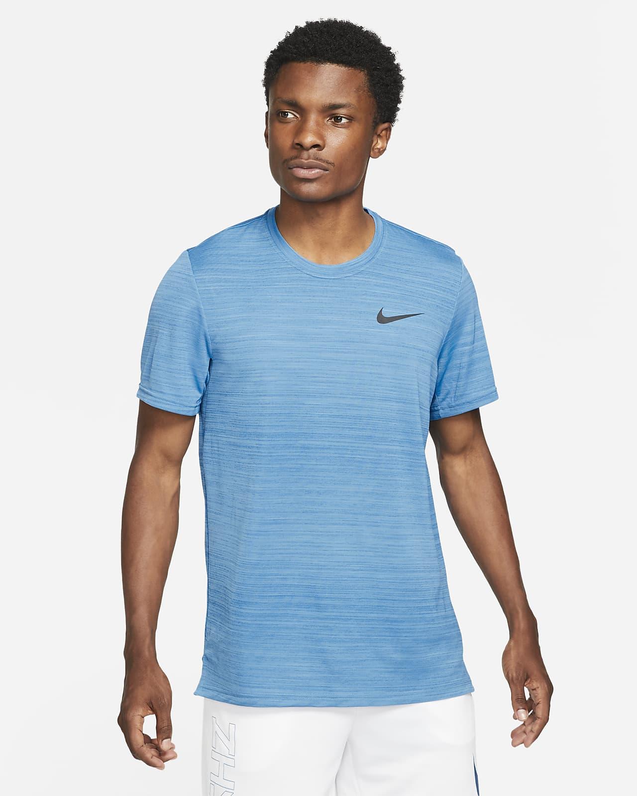 Camiseta de entrenamiento de manga corta para hombre Nike Dri-FIT Superset