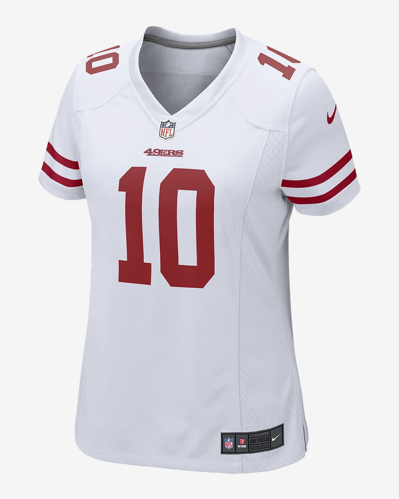 NFL San Francisco 49ers (Jimmy Garoppolo) Women's Game Football Jersey