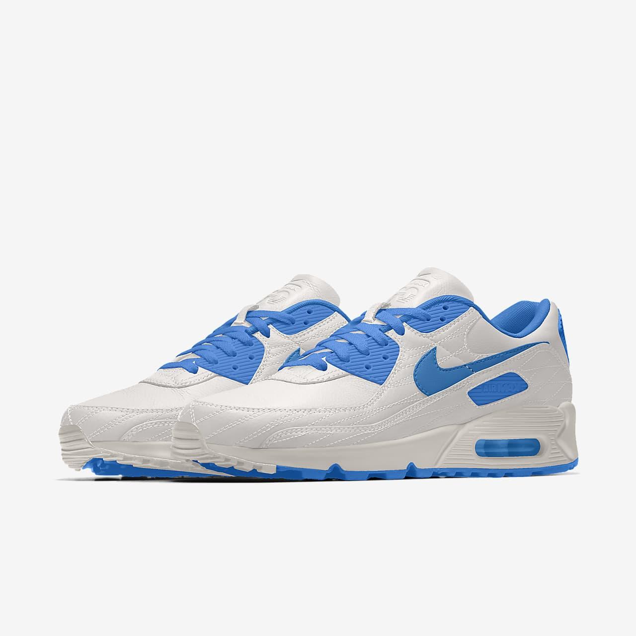 Nike Air Max 90 Unlocked By You Custom Men's Shoe. Nike LU