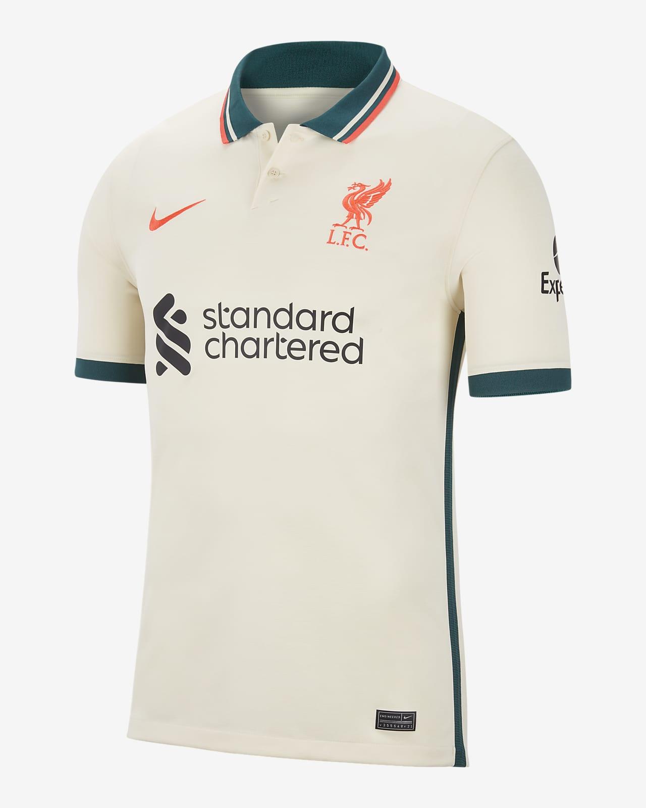 Jersey de fútbol del Liverpool FC visitante 2021/22 Stadium para hombre