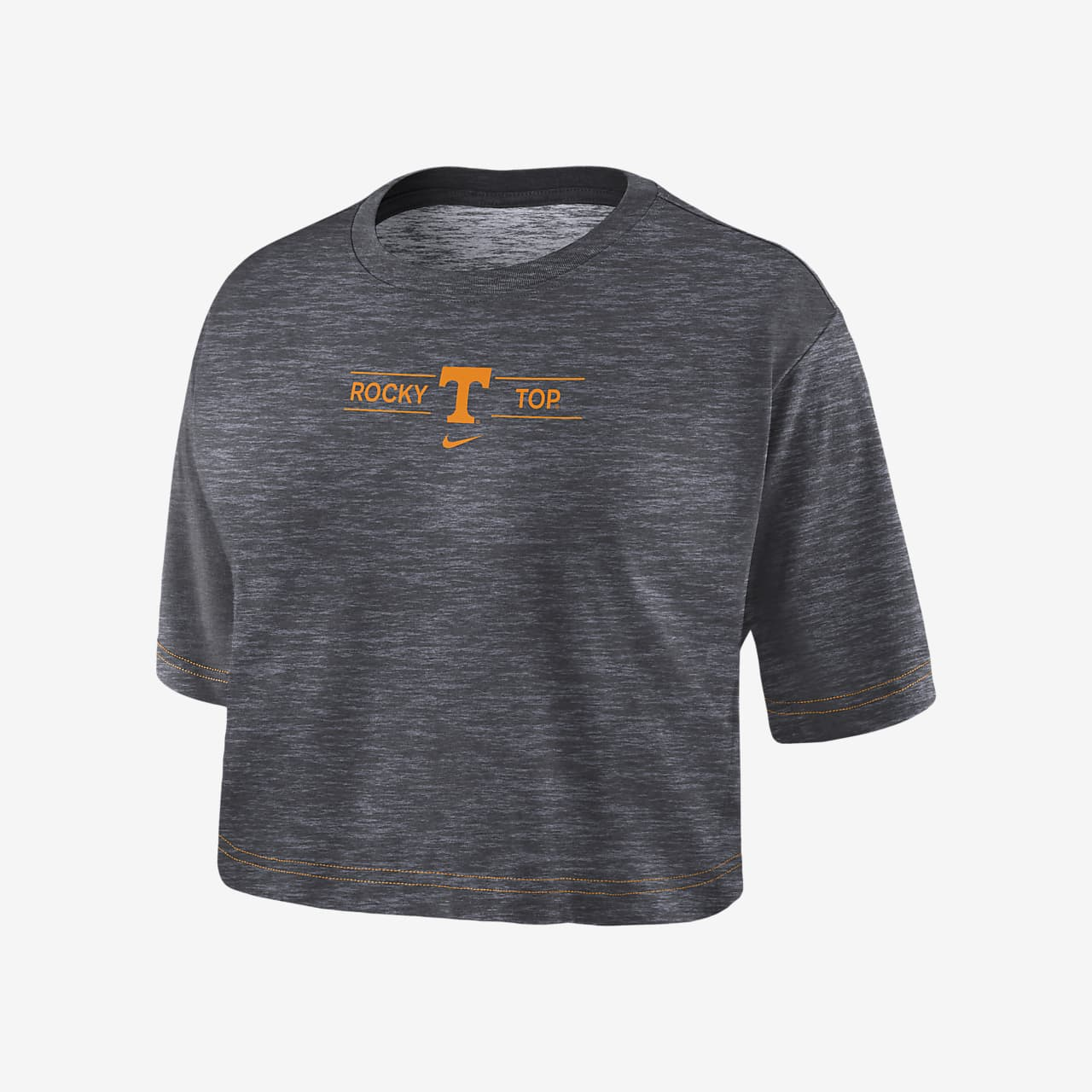 Nike College Dri-FIT (Tennessee) Women's Cropped T-Shirt