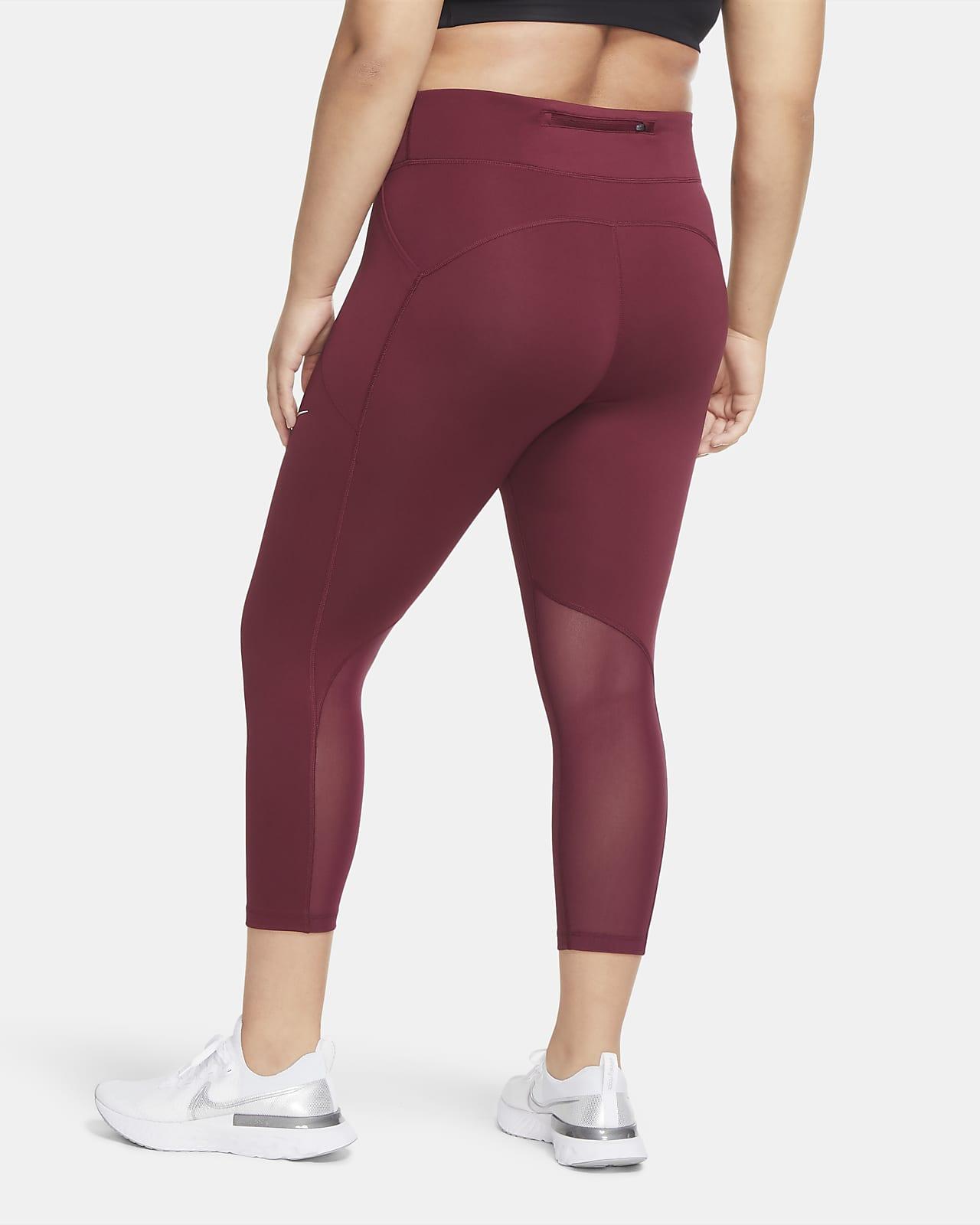 inalámbrico cinturón deseo  Mallas pescadoras de running para mujer Nike Fast (talla grande). Nike.com