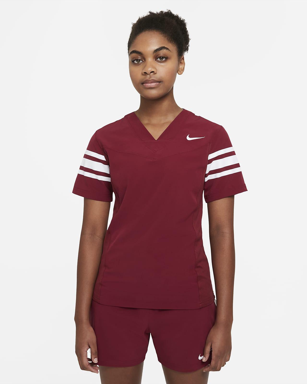 Camiseta de fútbol con bandera para mujer Nike Vapor (Stock)