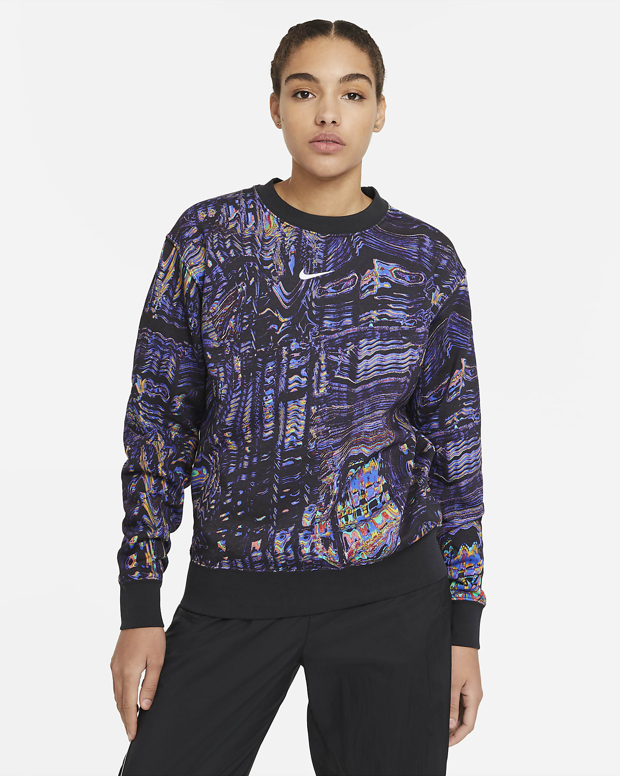 Sudadera de felpa de danza para mujer Nike Sportswear