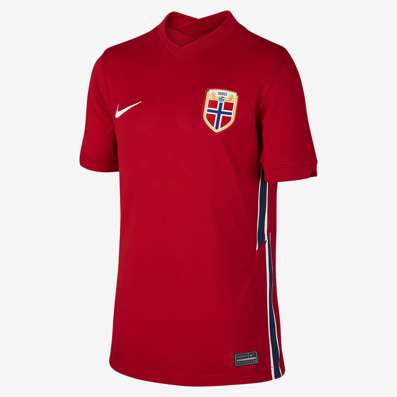 Norway 2020 Stadium Home Older Kids' Football Shirt
