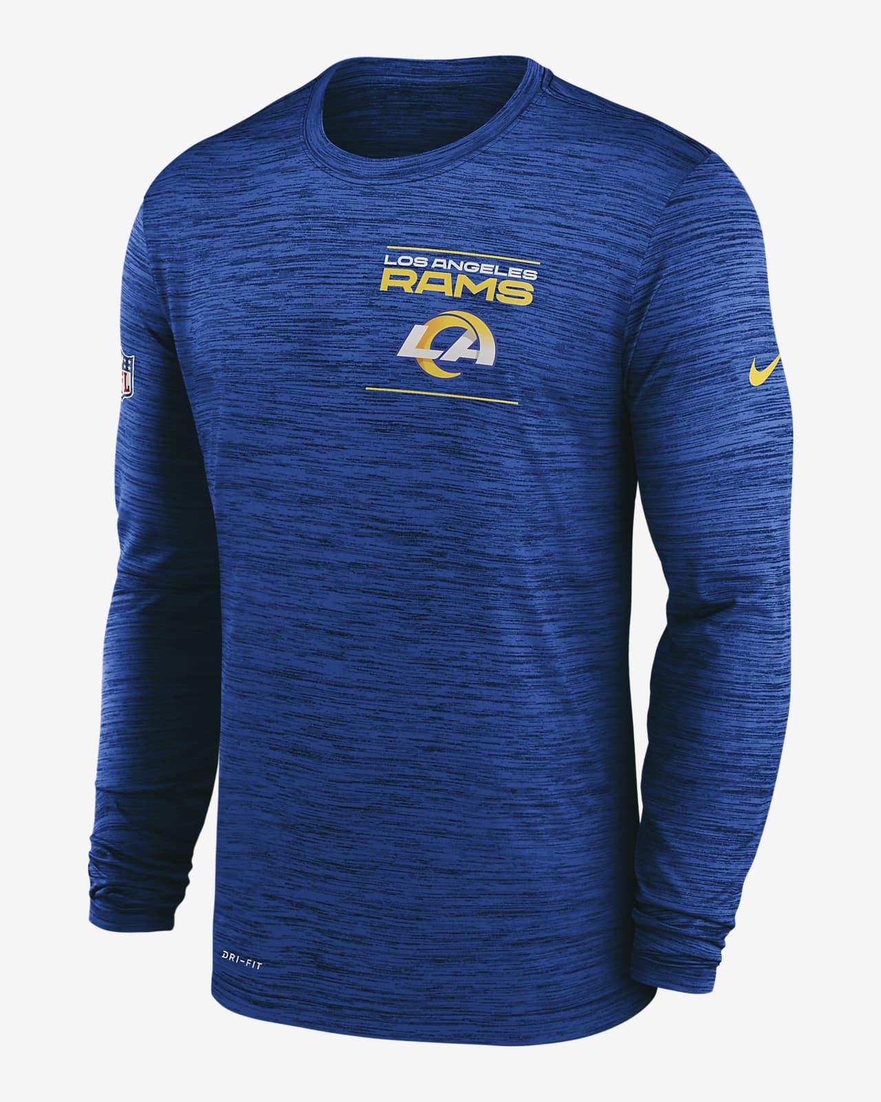 Nike Dri-FIT Sideline Velocity Legend (NFL Los Angeles Rams) Men's Long-Sleeve T-Shirt