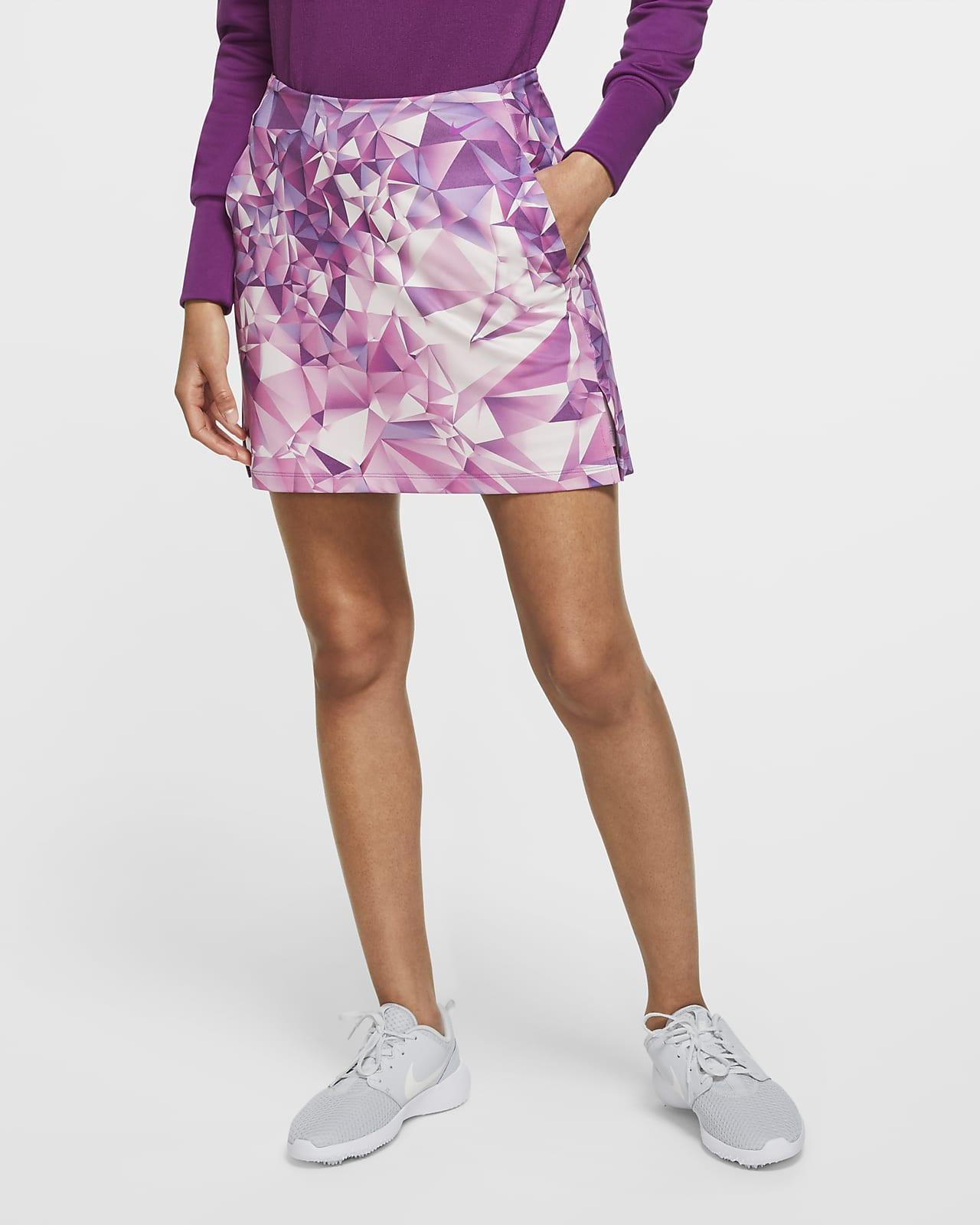 Jupe de golf imprimée Nike Dri-FIT UV Victory 43 cm pour Femme