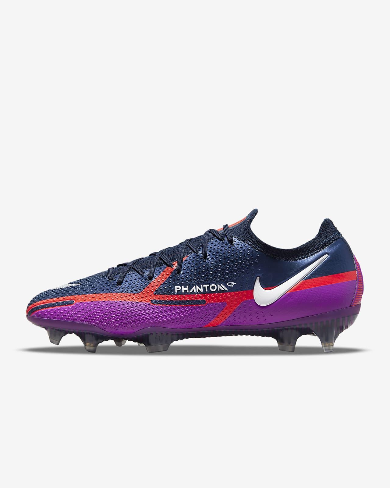 Chaussure de football à crampons pour terrain sec Nike Phantom GT2 Elite FG