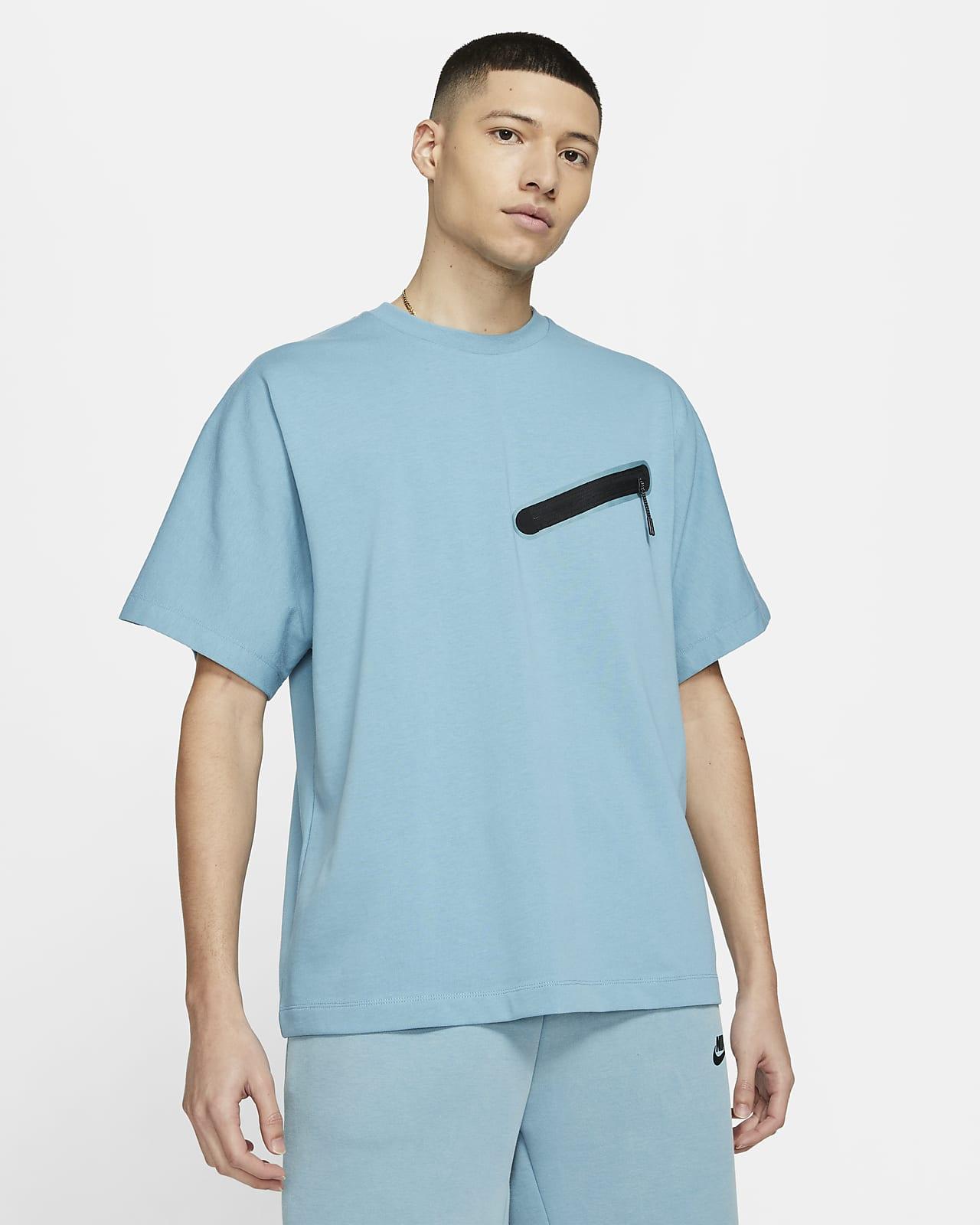 Nike Sportswear Kurzarm-Strickoberteil für Herren