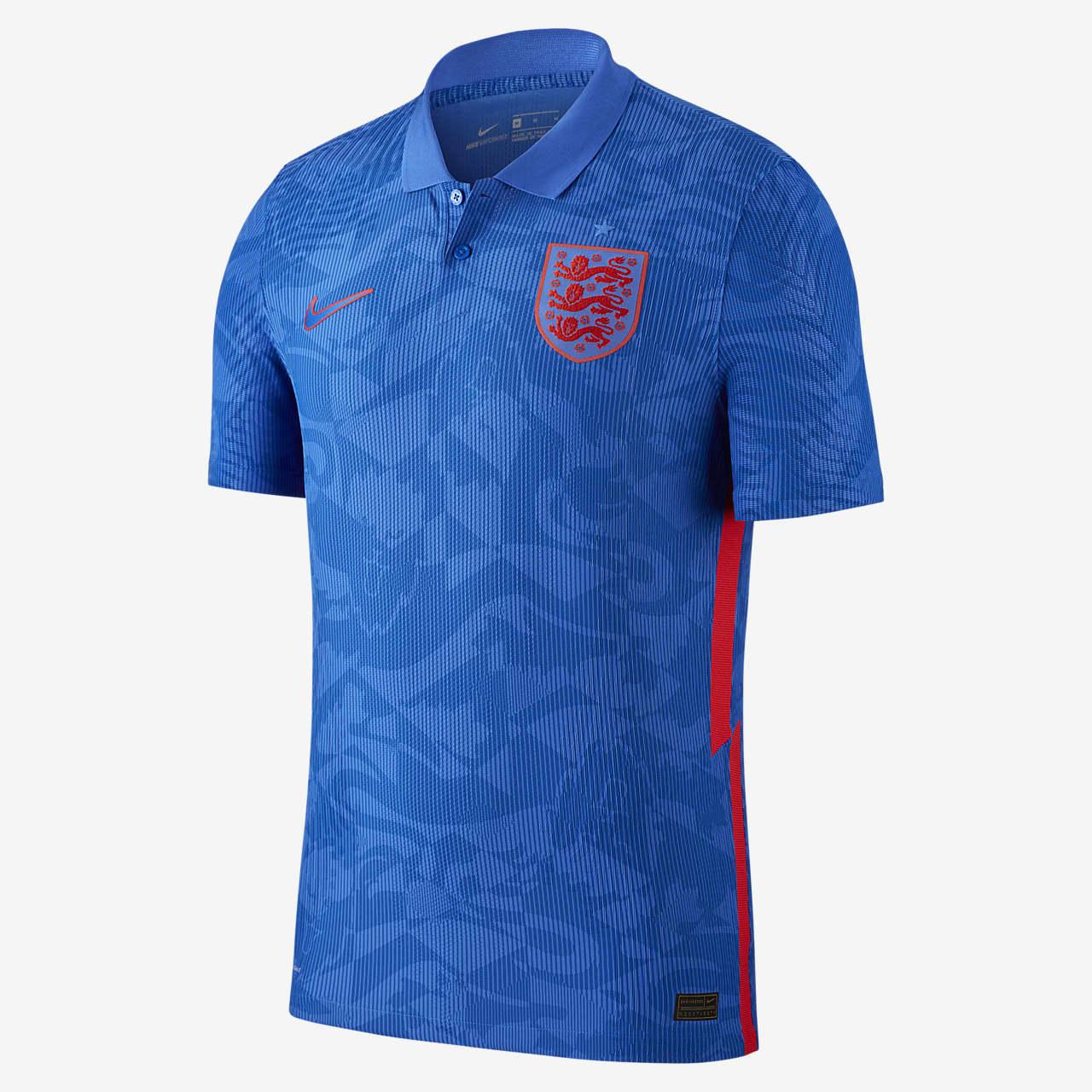 Męska koszulka piłkarska Anglia Vapor Match 2020 (wersja wyjazdowa)