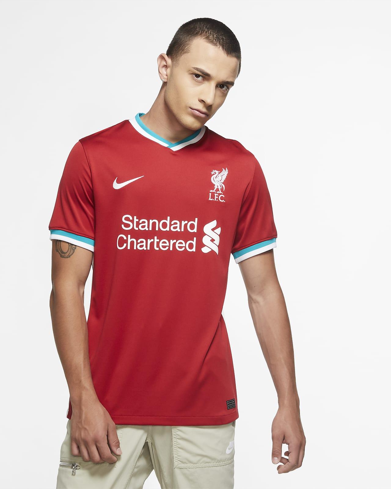 Maglia da calcio Liverpool FC 2020/21 Stadium da uomo - Home