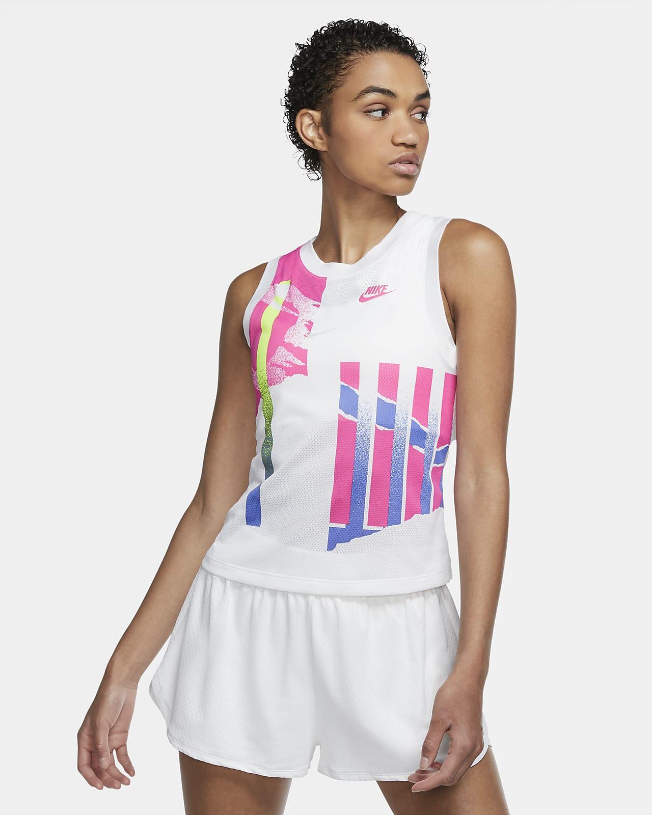 Nublado Timor Oriental Incentivo  Camiseta de tirantes de tenis para mujer NikeCourt Slam. Nike.com