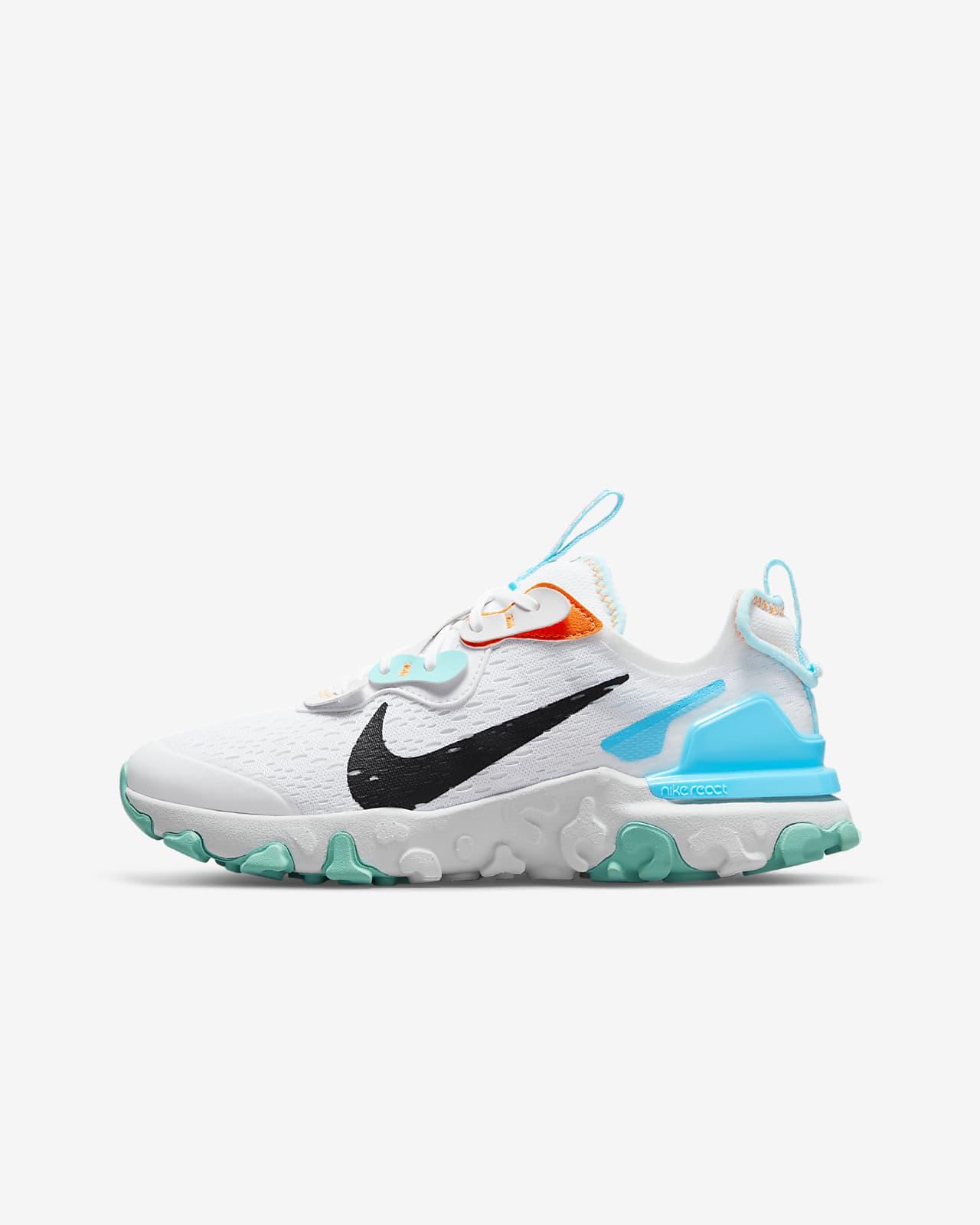 Calzado para niños talla grande Nike React Vision
