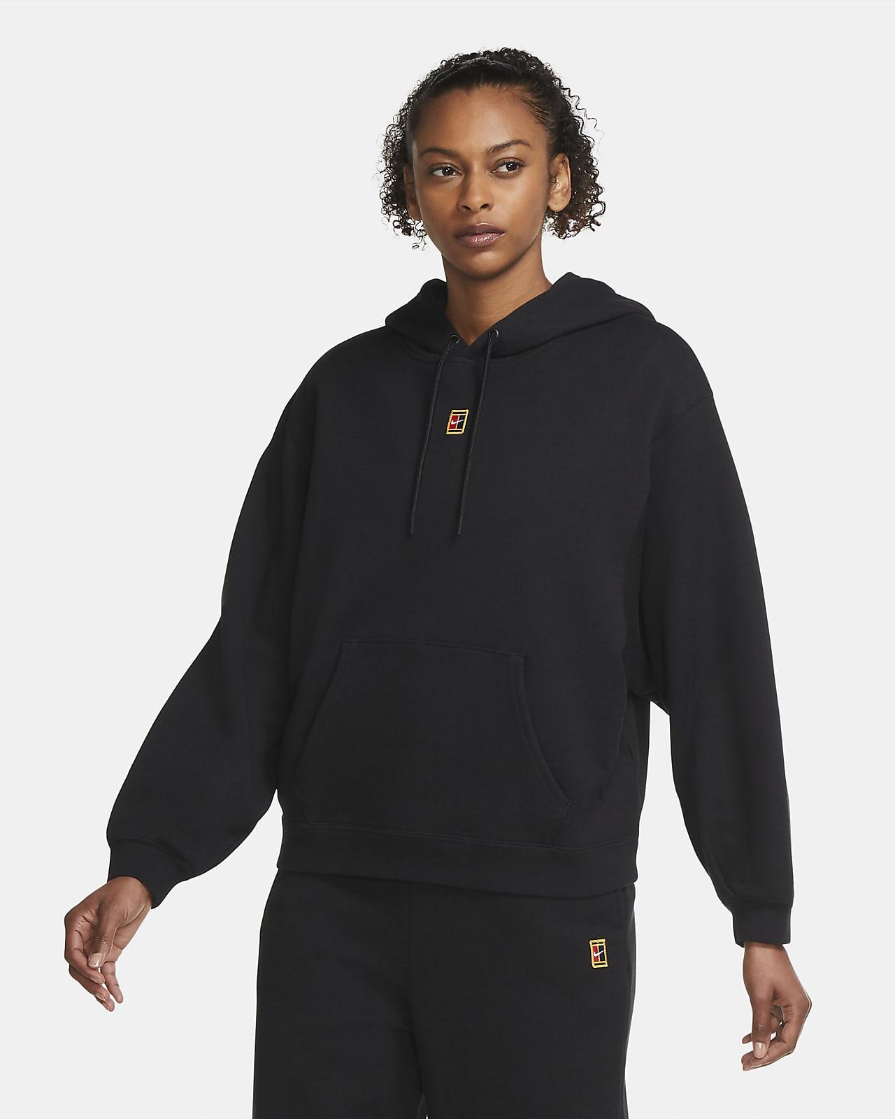 télex Pino Mariscos  Sudadera con capucha de tenis de tejido Fleece para mujer NikeCourt. Nike .com