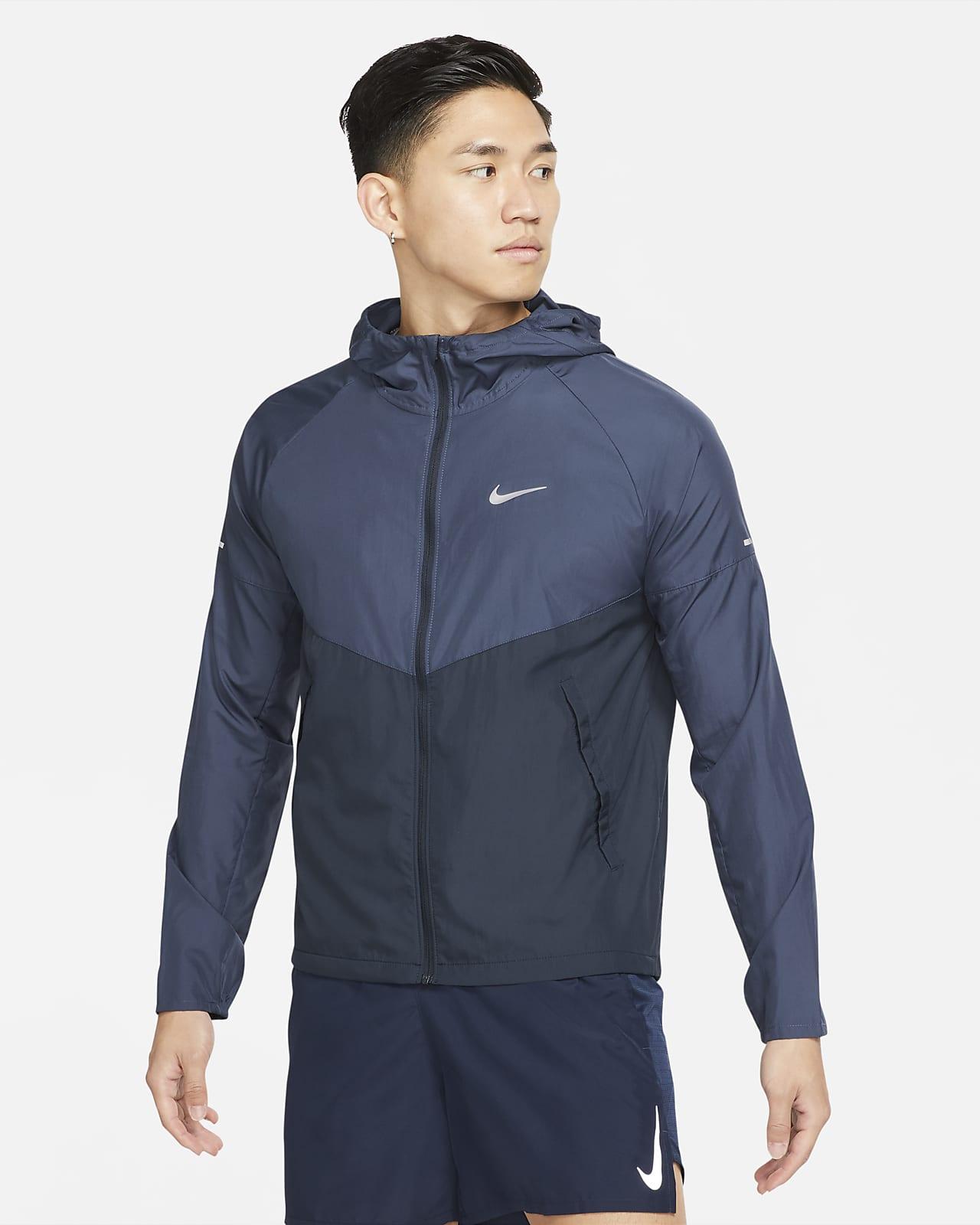 เสื้อแจ็คเก็ตวิ่งผู้ชาย Nike Repel Miler