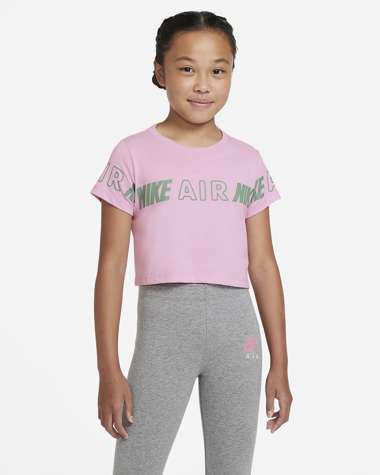 Kort t shirt Nike Air för ungdom (tjejer)