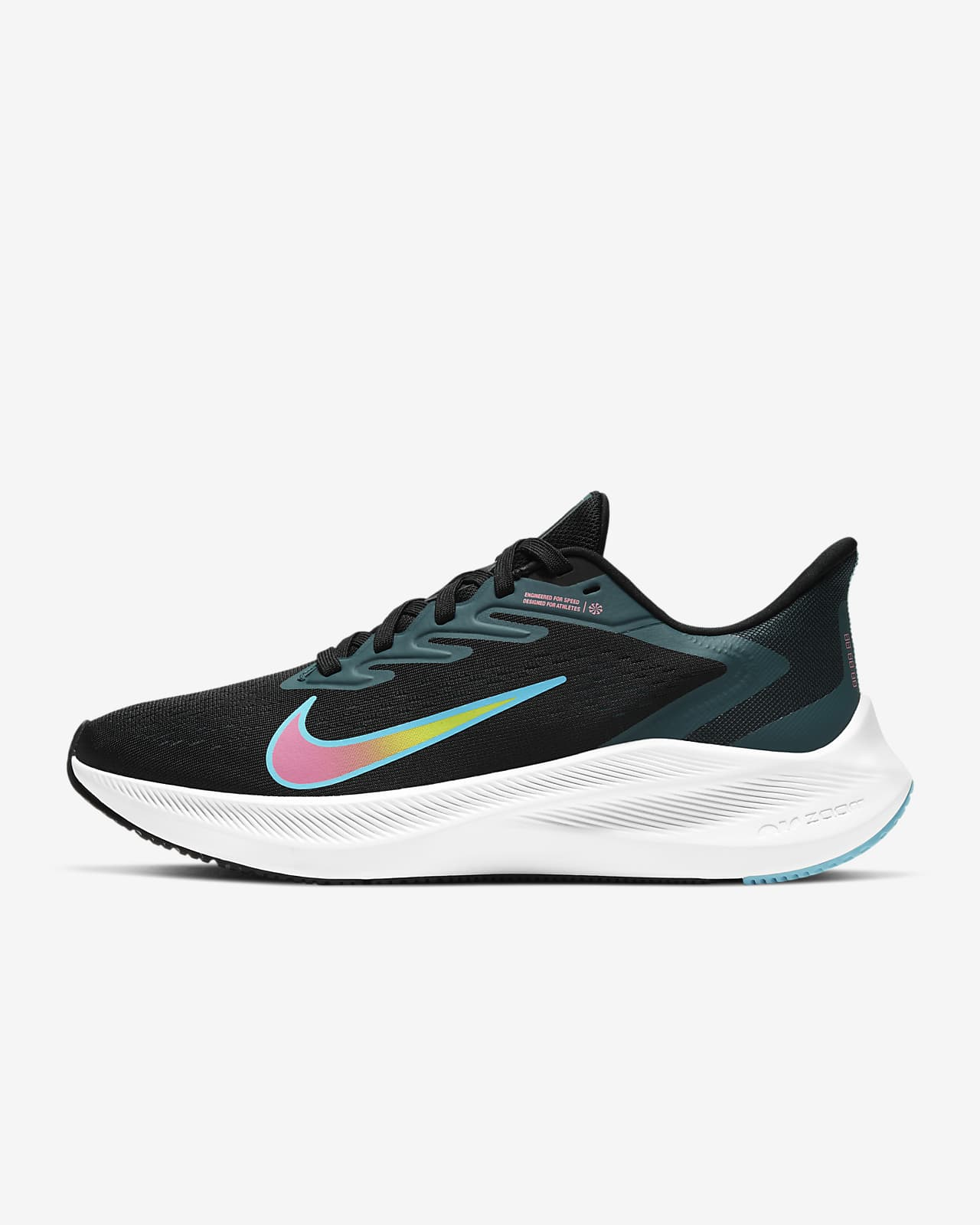 lecho Circular Sensación  Nike Air Zoom Winflo 7 Women's Running Shoe. Nike VN