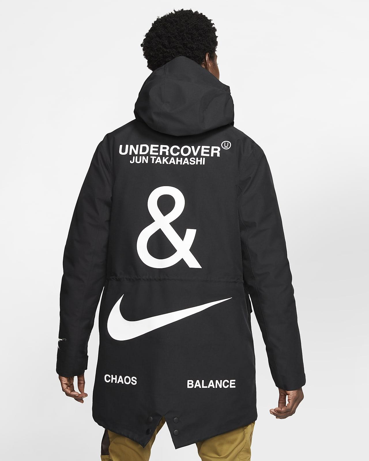 Punto de referencia máquina 鍔  Nike x Undercover 3-Layer Fishtail Parka. Nike ID