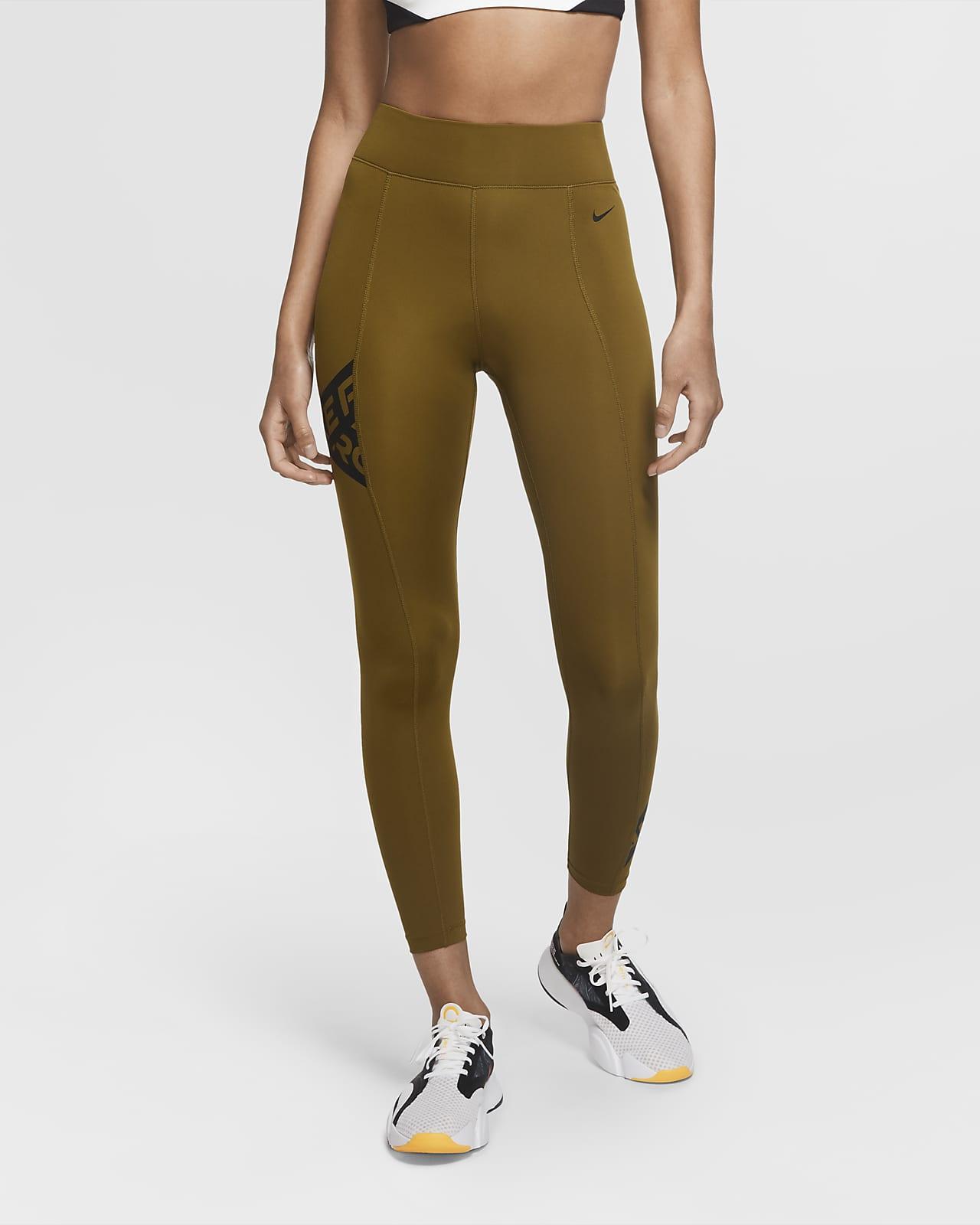Nike Pro 7/8-Tights mit Grafik für Damen