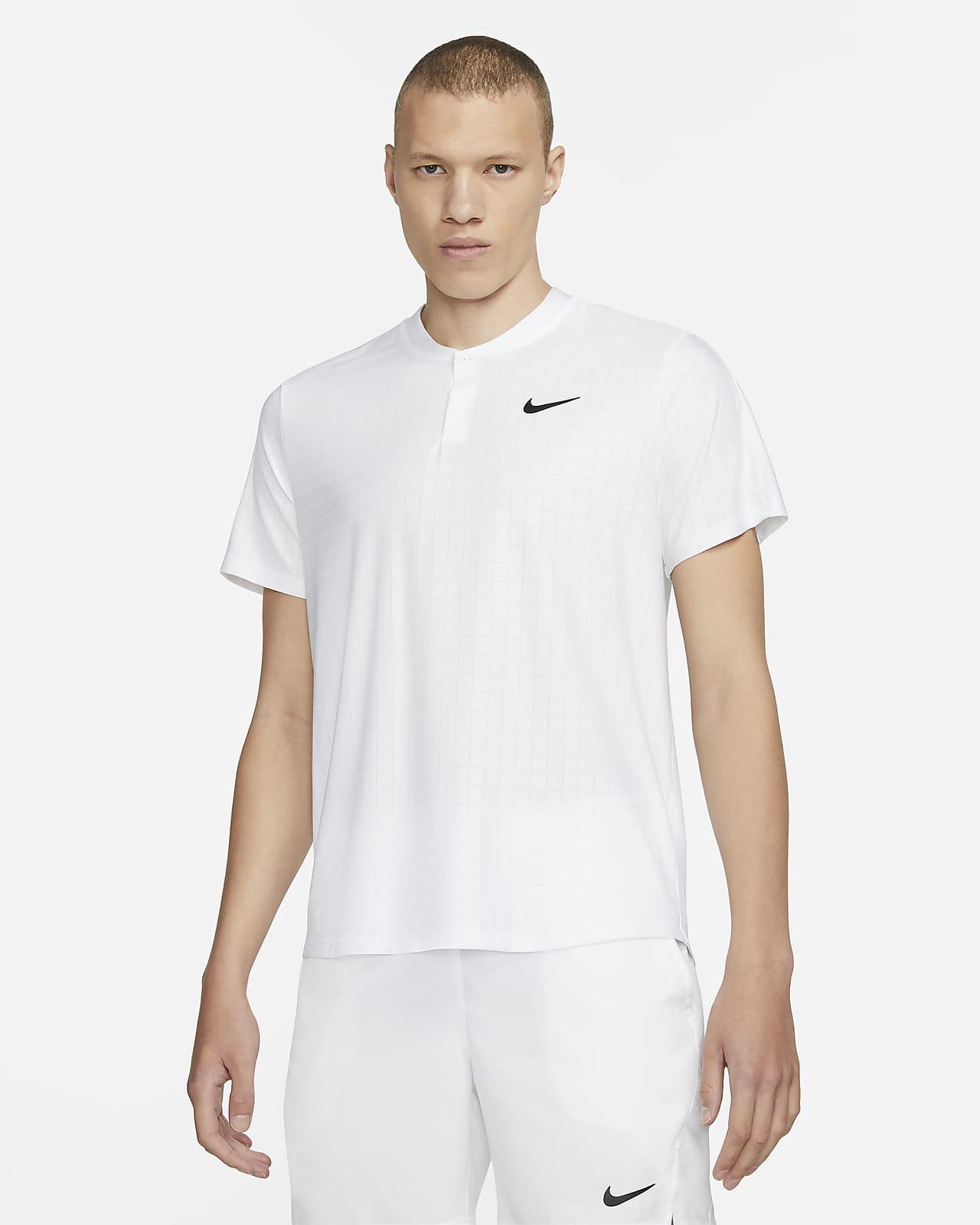 NikeCourt Dri-FIT Advantage tennisskjorte for herre